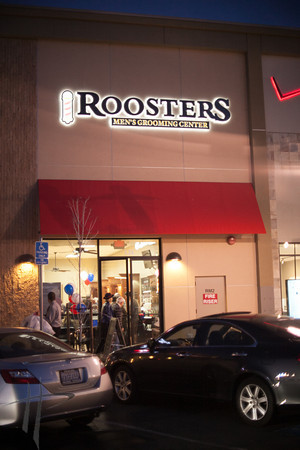 110713 Sr Ribbon Cutting @ Roosters Grooming