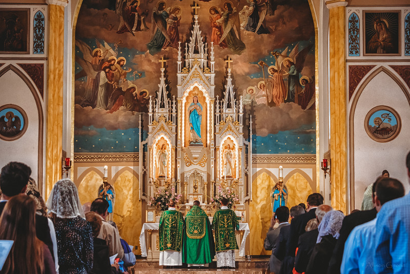 FSSP LatinMass St. Marys 3 priest altar 2-1.jpg