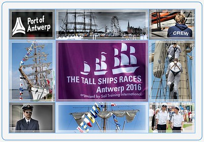 The Tall Ships Races 2016 @ Antwerp