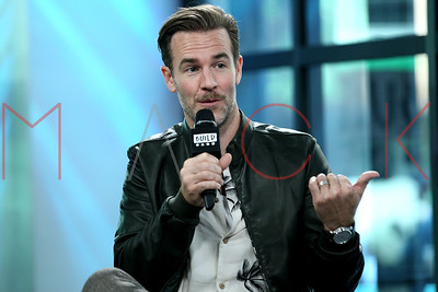 """NEW YORK, NY - AUGUST 03:  James Van Der Beek visits Build discussing the show """"What Would Diplo Do?"""" at Build Studio."""