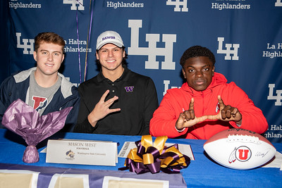 LHHS Signing Day 2019/20