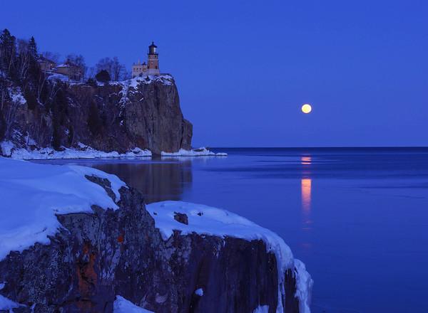 Lake Superior Moonrises