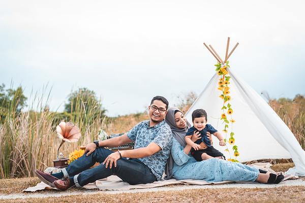 Vanisha and Arafat Family Photos
