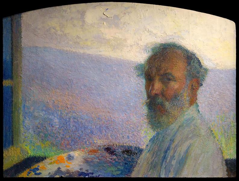 Henri Martin, Portrait de l'artiste (vers 1902)