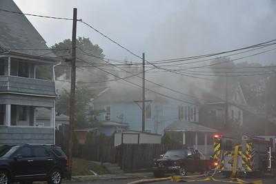 House Fire - 8 Jackson St., Meriden, CT - 6/27/20