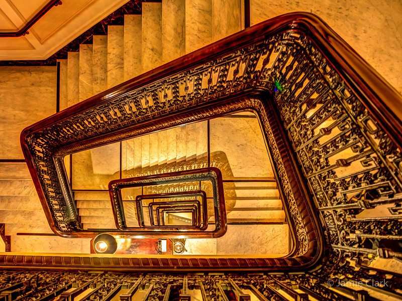 Stairwell, Palace Hotel