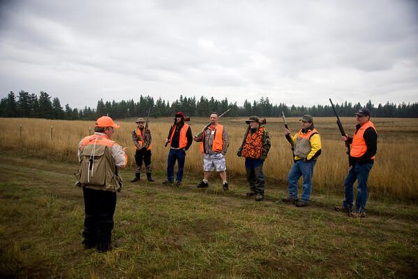Saturday morning hunt