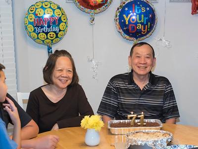 Tu Van Ho 71st Birthday