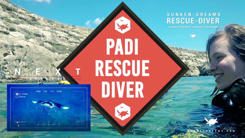 Rescue Diver Course - Sunken Dreams e-Learning