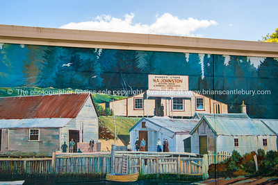 Katikati, mural town, Bay of Plenty, NZ.