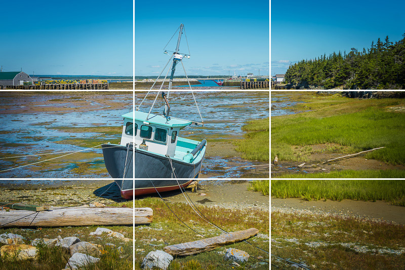 Composition in Photography - Rule of Thirds