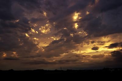 Obloha září 2015