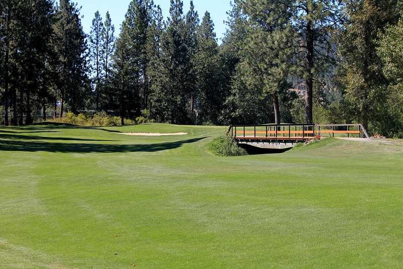 #17 Fairway and Green, The Creek at Qualchan GC,  Spokane, Wa