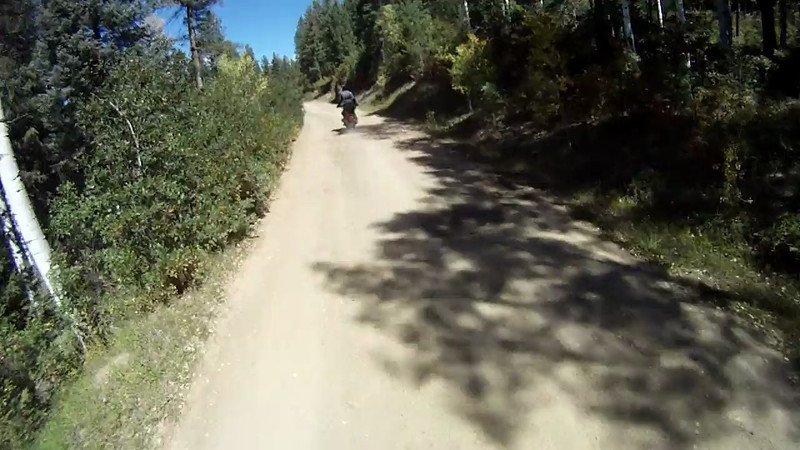2010-09-26 Elk Mtn BMW Shop Ride 01d Dirt
