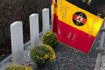 Bevrijdingsherdenking 2011 - Aan de begraafplaats