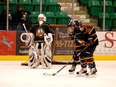 Foothills Bisons vs Okotoks Oilers PeeWee AA Feb 25 2010
