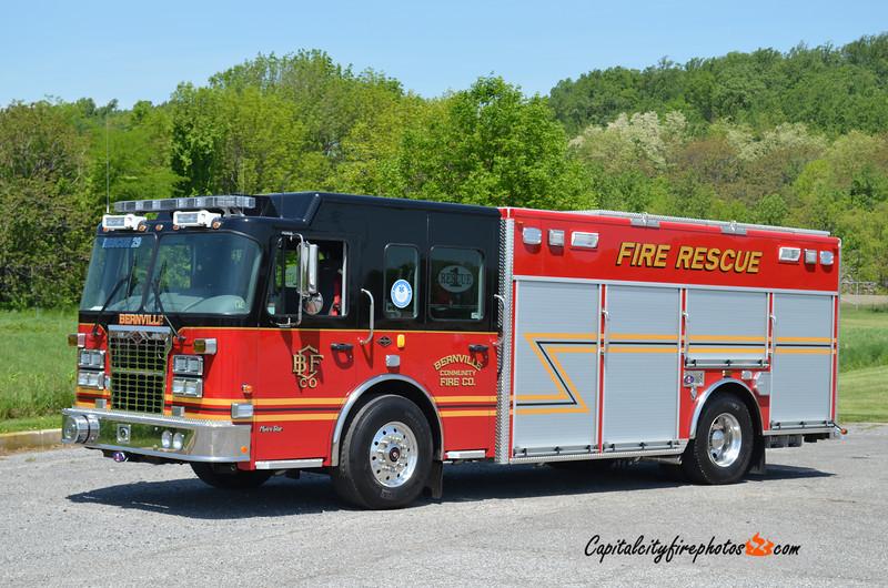 Bernville Rescue 29: 2010 Spartan/Rescue 1 (X-Demo Unit)