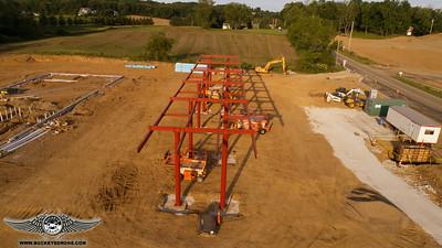 6-16-2017 Sunset Flight BellStores Construction