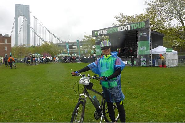 NYC 5 Boro Bike Tour 2016