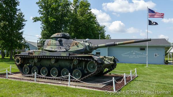 VFW Post 2777 - Burton, MI - M60A3