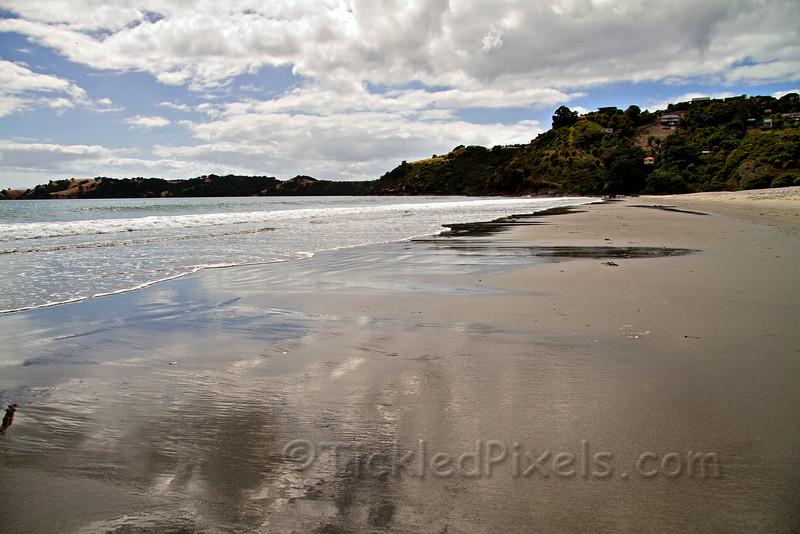 Onetangi Beach on Waiheke Island