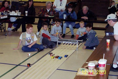 Papago Pinewood Derby - 12-13-03