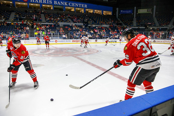 02-18-17 - IceHogs vs. Checkers