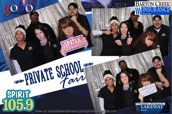 20190119 Spirit 1059 Private School Fair