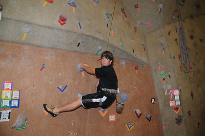 10-8-2011 Kenny Sterie Rock Wall @ Lifetime Fitness