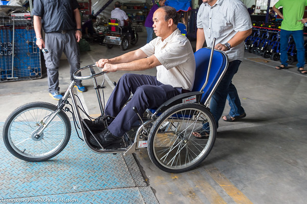 2018 Vietnam (August) Wheelchair Distributions