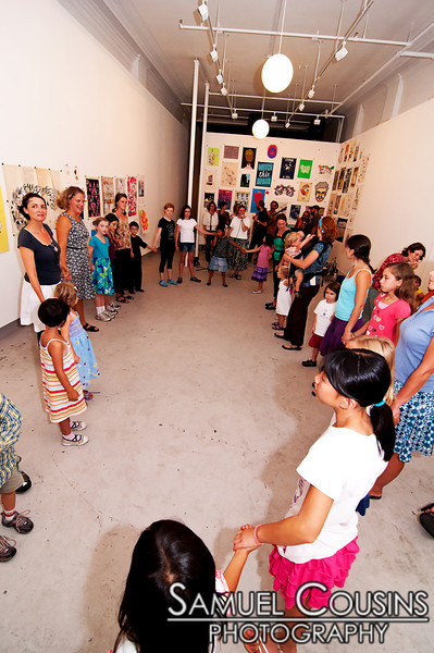 Family Contra Dance with The City Chickens!   The Kids are Alright series was held at Space Gallery, in partnership with the Portland Music Foundation and the Maine Academy of Modern Music (MAMM).