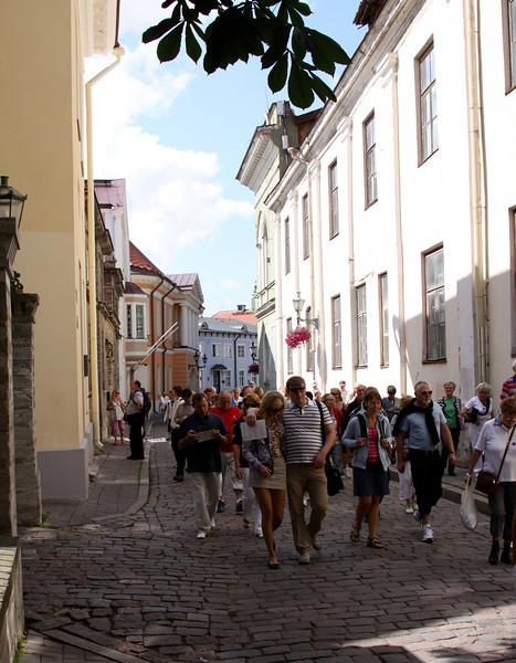Toompea - Kohtu, street in Toompea.