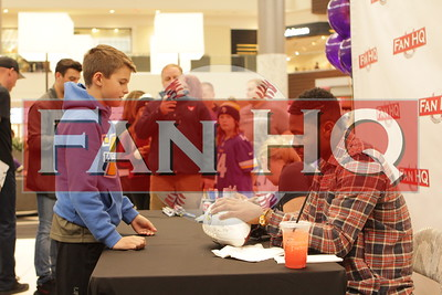 Stefon Diggs Autograph Event