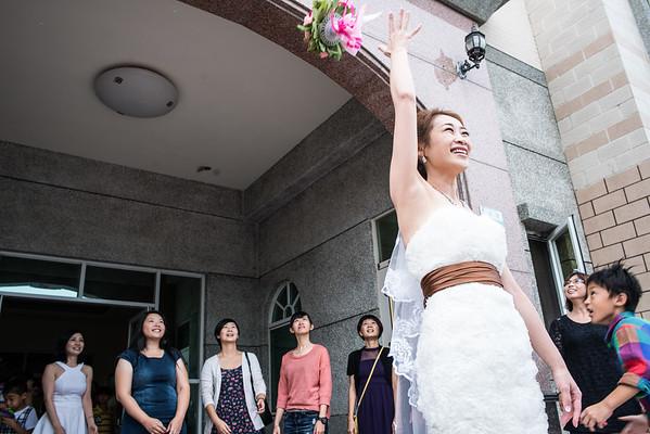 嘉義新塭教會/單證婚儀式/哲聖&麗蘭