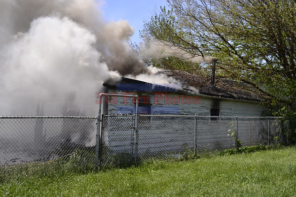 Alsip, IL Practice Burn 120th St & Hamlin Ave. 5/24/2013
