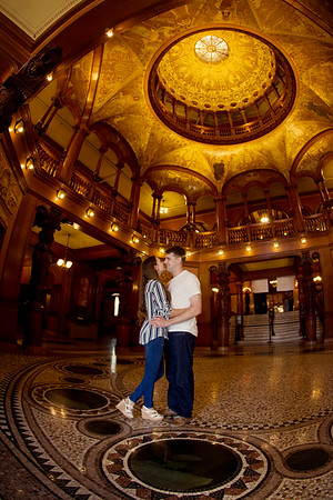 Ryley and Chrystal: Save the Date!