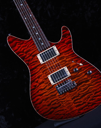 TurboJet, Copper Burst, HH PIckups