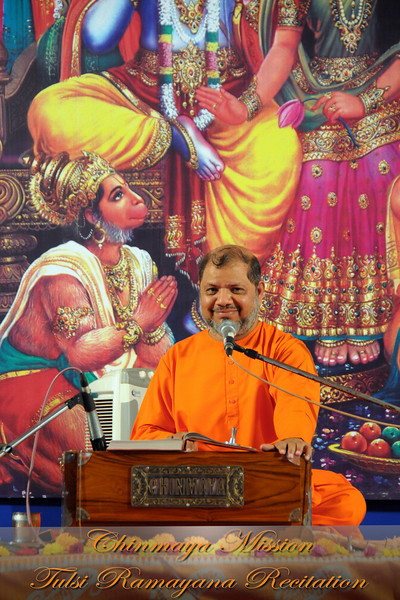 Chinmaya Mission's Tulsi Ramayana Recitation Mar'09