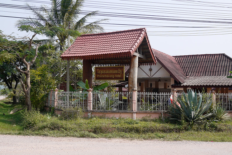 Guesthouse in Hongsa, Laos.