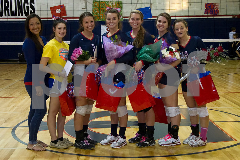 2012 TCH Volleyball Sr. Night