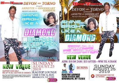 "TOURNA ""BIRTHDAY / SHINE BRIGHT LIKE A DIAMOND""(15)"