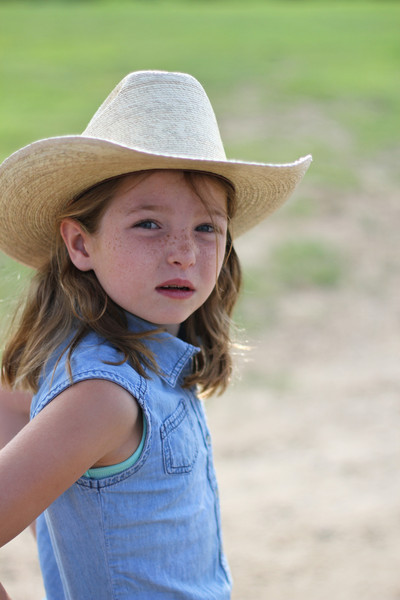 Little Cowgirl looking the part