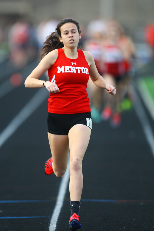 . 2018 - Track and Field - Willoughby South Invitational.  800 Meter Run.  Sarah Lane won from Mentor in a time of 2:25.16.