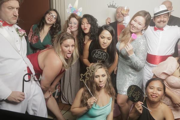 A night at Prosecutors Prom Photobooth