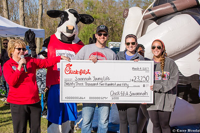 ChickfilA Rise and Run 5k and 1 mile
