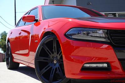2015 Dodge Charger R/T - Red - CQuartz Finest Reserve Ceramic Coating