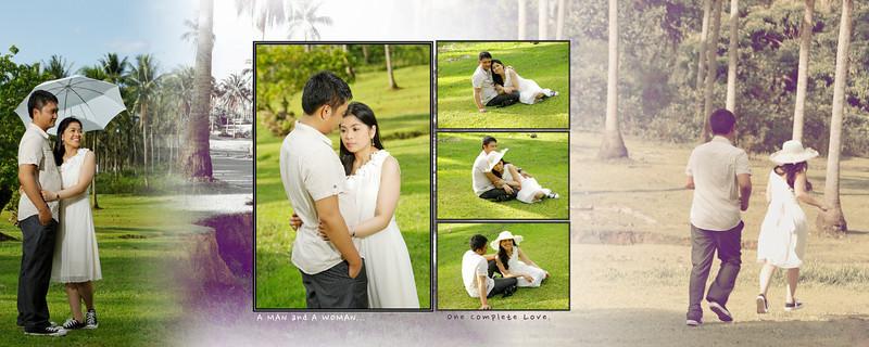 Alan & Maricel Signbook