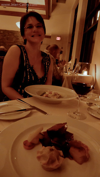 We dinned at the Hillebrand Winery Restaurant, Very good food and the wines were well matched!