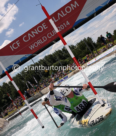 ICF Canoe Slalom World Cup - London 2014