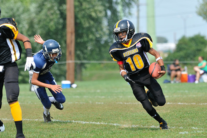 Pop Warner Steelers 9-11 Game Photos